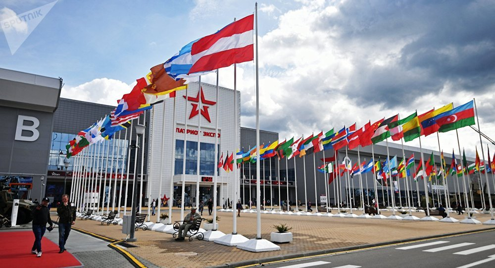 The Patriot congress and exhibition center in the Moscow Region, a venue hosting the ARMY 2017 International Military-Technical Forum