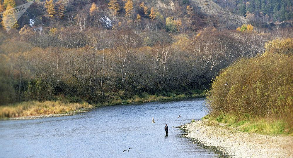 The Lyutoga River in Sakhalin Island. (File)