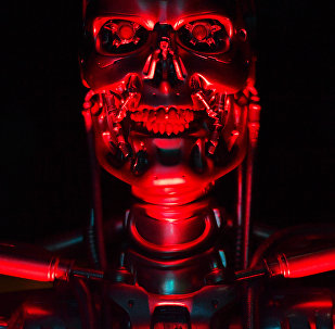 A robot named 'T-800 Endoskeleton robot' used during the filming of Salvation, part of the US Terminator film franchise is on view at the ROBOT exhibition at the Science Museum in London on February 7, 2017.