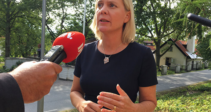 Swedish Finance Minister Magdalena Andersson