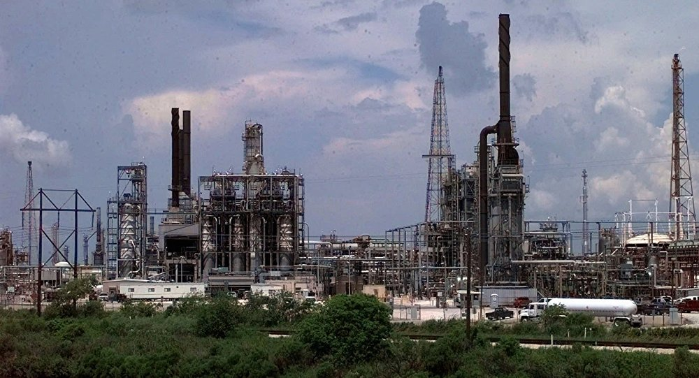 File Photo of Chemical Plant Near Houston, Texas