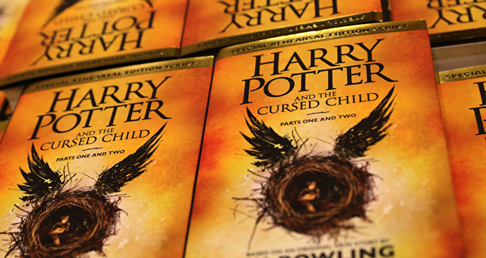 Piles of the new Harry Potter script book Harry Potter and the Cursed Child Parts One & Two are pictured inside Waterstones bookshop on Piccadilly in central London early in the morning of July 31, 2016, during the midnight party celebrating the publication of Harry Potter and the Cursed Child Parts One & Two script book