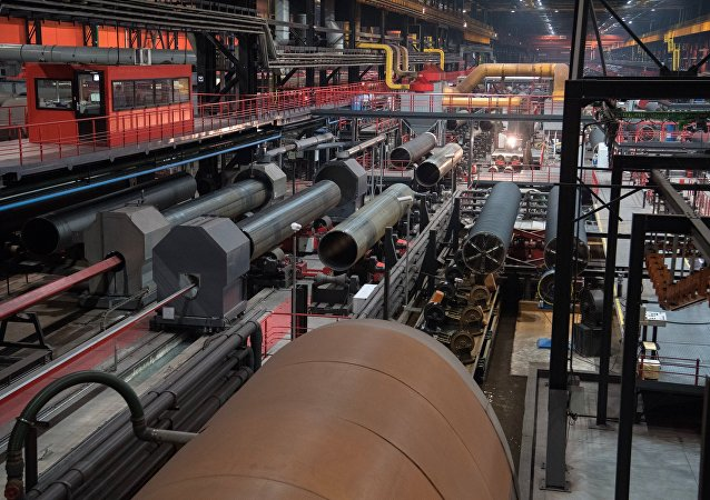 The ETERNO shop of the Chelyabinsk Pipe-Rolling Plant