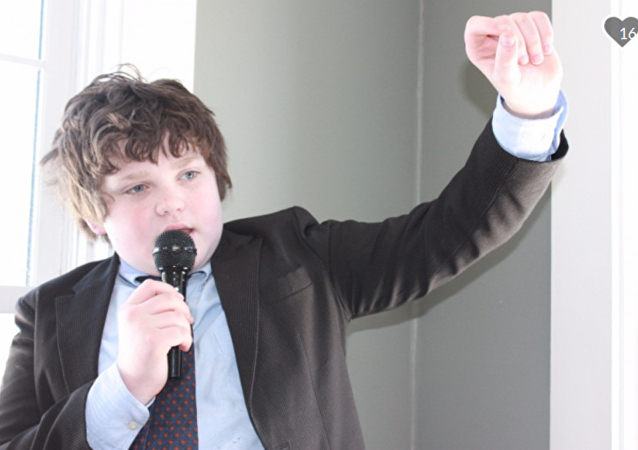 Ethan Sonneborn, 13, running for governor of Vermont
