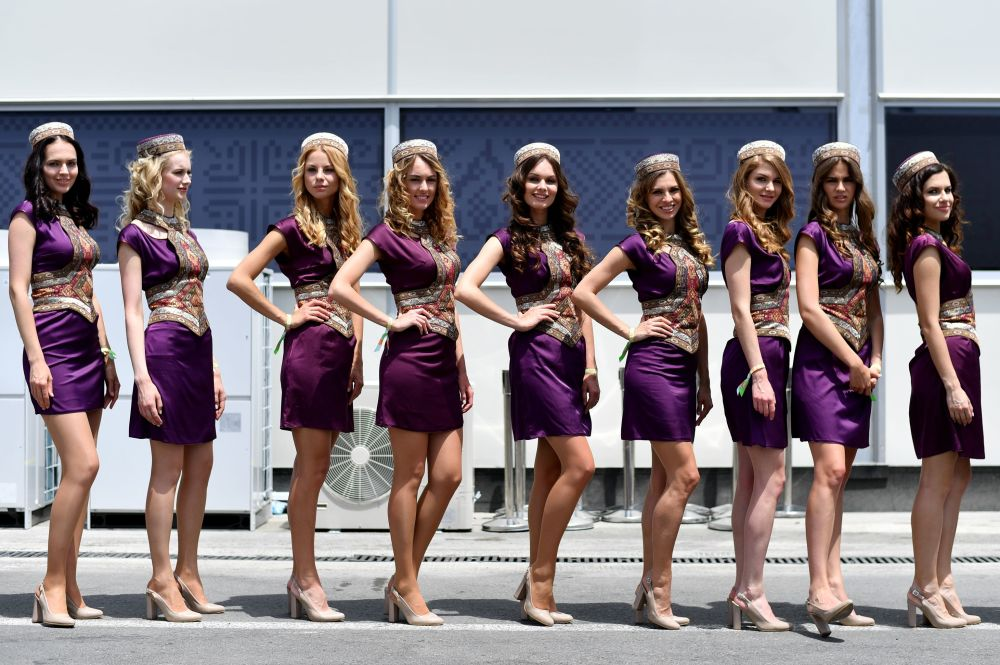 Race Queens: Gorgeous Grid Girls Who Grace Car Racing Events