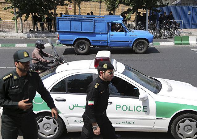 Iranian police. (File)