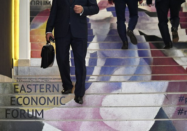 The Eastern Economic Forum in Vladivostok
