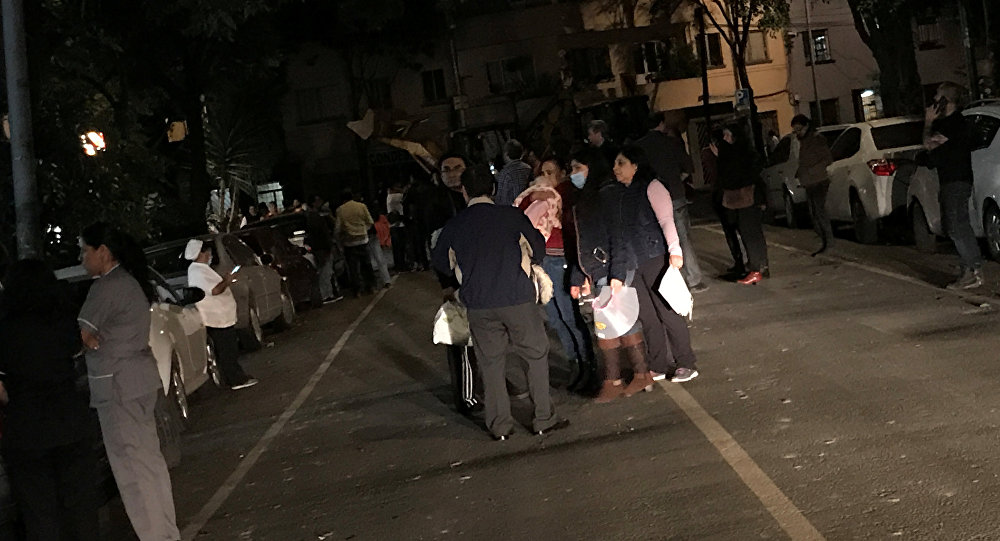 At Least 35 Dead In Mexico's Strongest Quake On Record