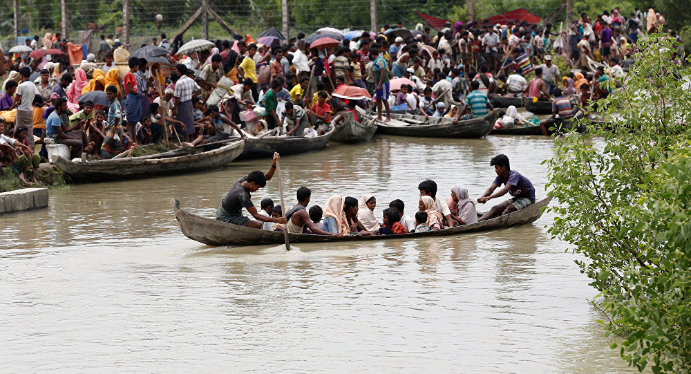 At least 270000 Rohingya flee Myanmar violence in 2 weeks, United Nations  says