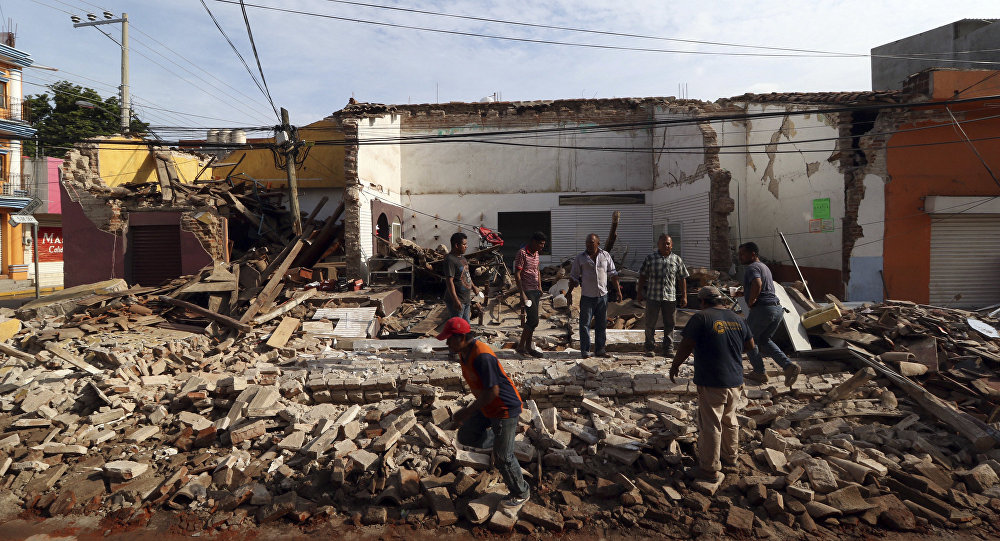 Venezuela Offers Help To Mexico Guatemala After Deadly Quake