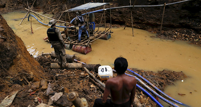 Illegal Mining in Amazon