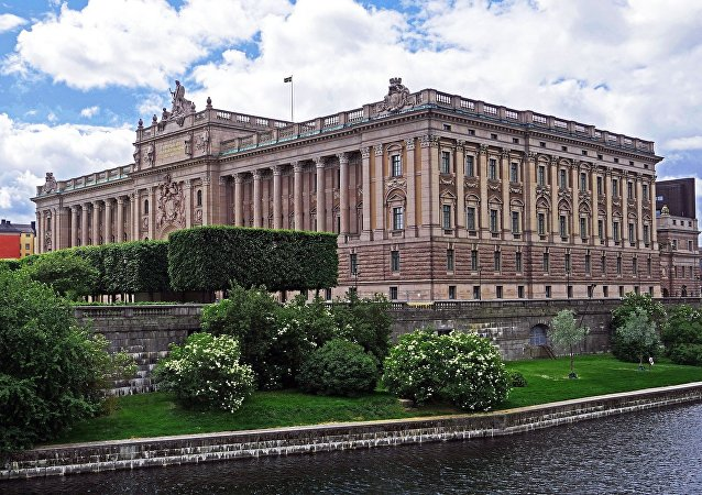 Sweden parliament building