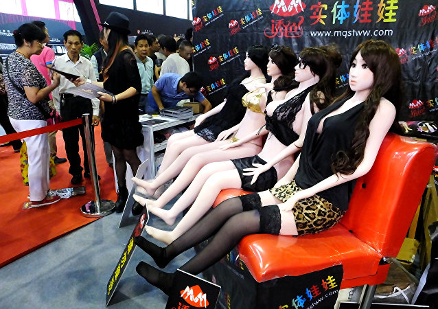 Sex dolls are on display at the Guangzhou Sex Culture Festival, in Guangzhou, south China's Guangdong province. (File)
