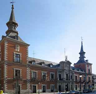 Headquarters of the Spanish Foreign Ministry. (File)