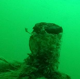 WWI German Submarine