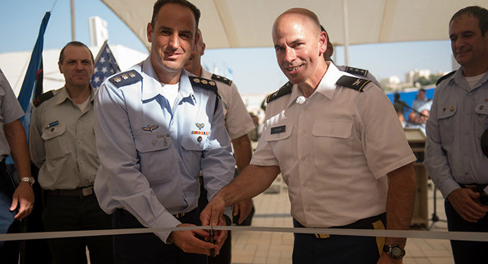 First official U.S. military base opens on Israeli soil