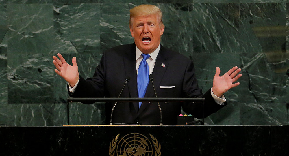 President Trump says USA  is ready to intervene in Venezuela