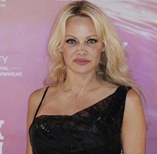 US actress Pamela Anderson