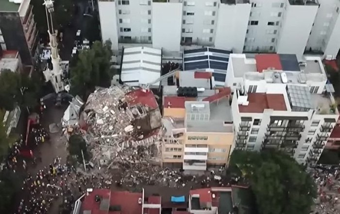 The Aftermath Of Quake In Mexico