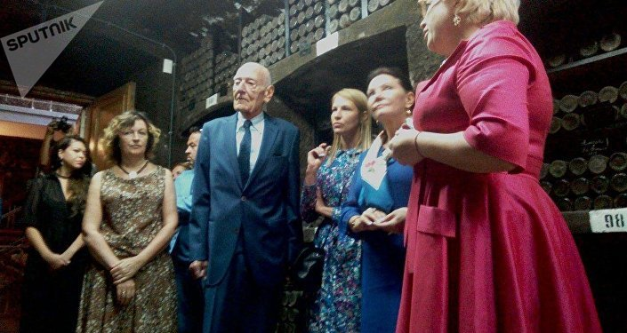 Descendant of Romanov dynasty Count Jan Bernadotte visits Crimea