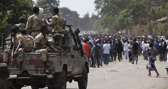 Oromo regional police (File)