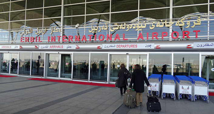 Erbil International Airport. (File)