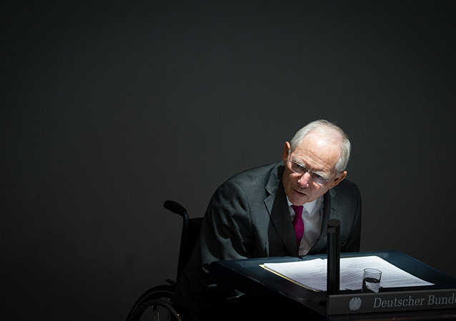 German Finance Minister Wolfgang Schaeuble  (File)