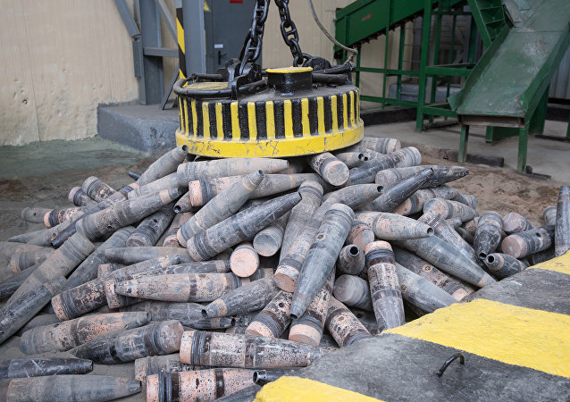 The program for chemical weapon destruction at Kizner facility, Udmurtia