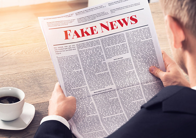 Fake News - Person Reading Fake News Article