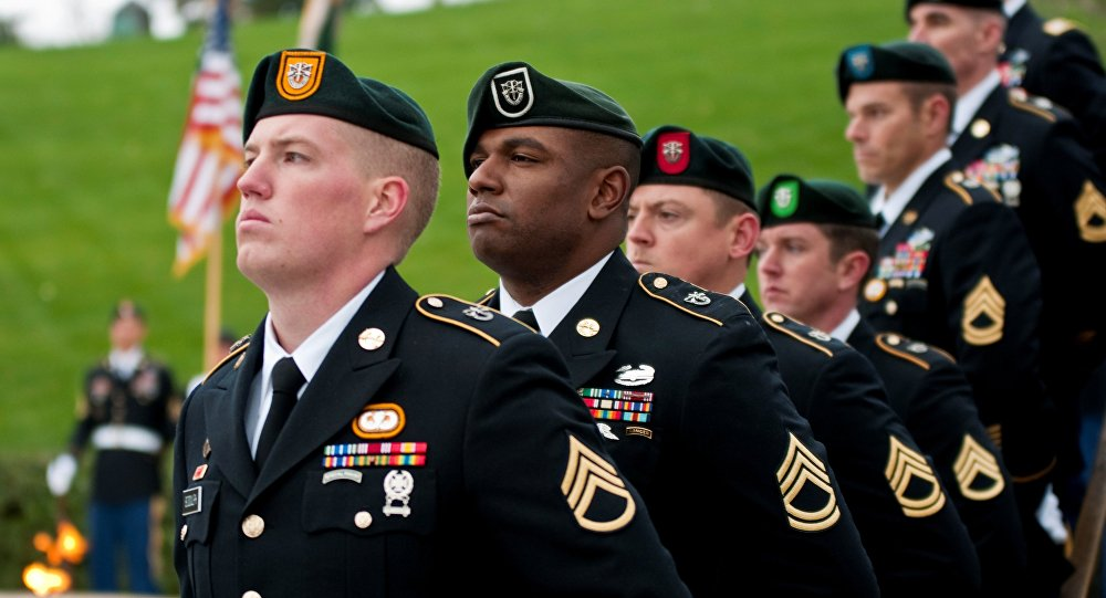 Special Forces Green Beret soldiers. (File)