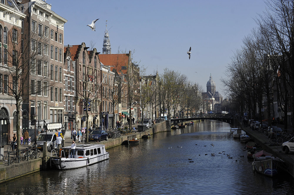 Foreign countries. Netherlands. Amsterdam