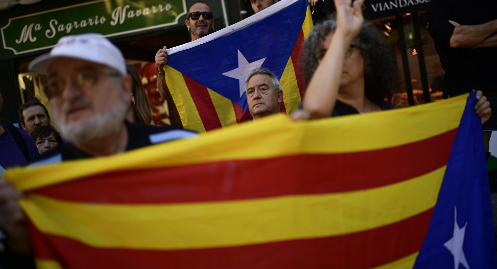 Spain pressures Catalan rebels amid civil resistance threats