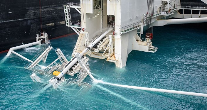 Deep water pipe laying of the TurkStream offshore pipeline