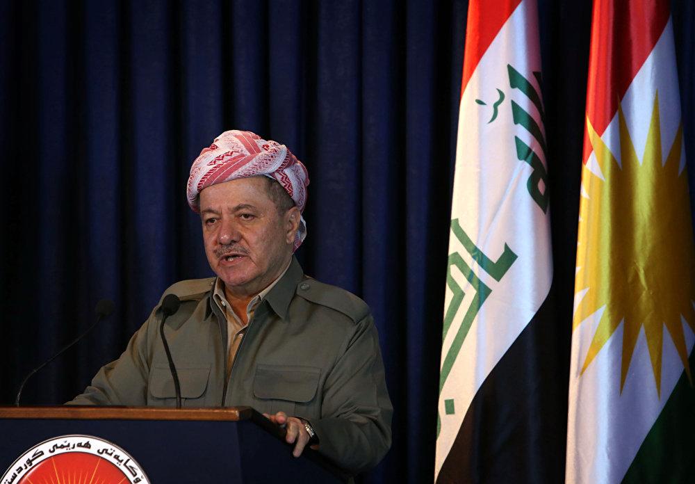 Iraqi Kurdish President Masoud Barzani