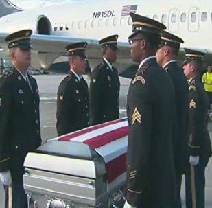 Remains of U.S. Army Sgt. La David Johnson return to Miami