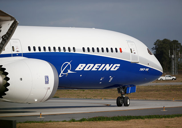 The new Boeing 787-10 Dreamliner taxis on the runway during it's first flight at the Charleston International Airport in North Charleston, South Carolina, US. File photo