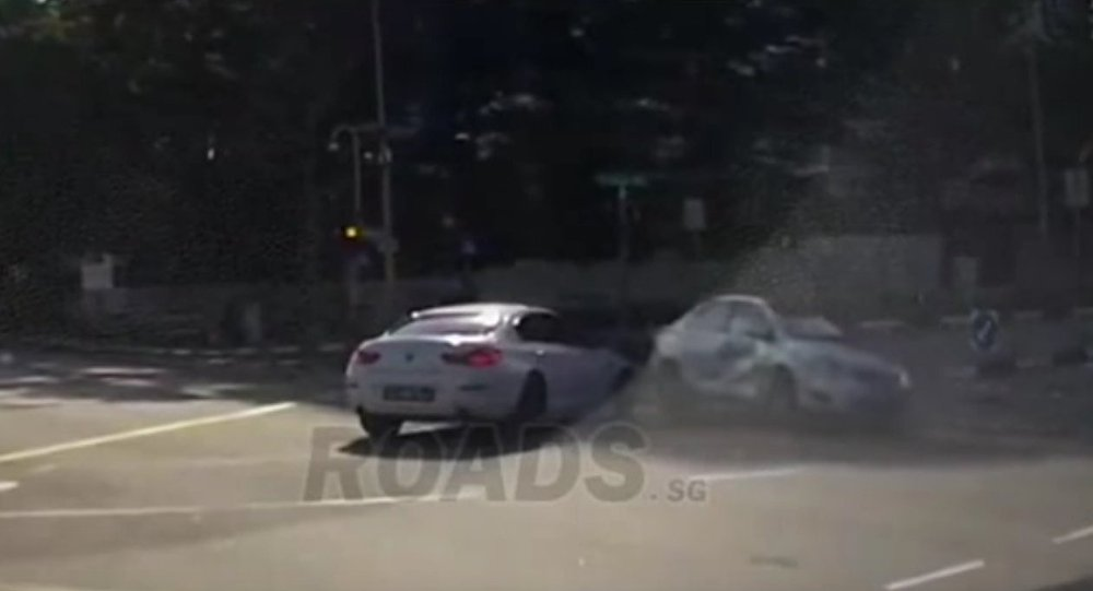 Back to the Future: Ghost Car Triggers Road Accident in Singapore ...