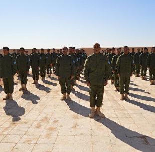 SDF training in Raqqa