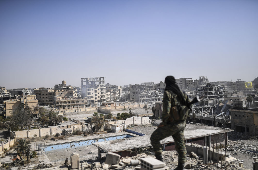 Haunting City of Death: Raqqa in Ruins Post Liberation From Daesh
