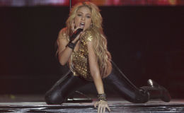 Colombia's singer Shakira performs during The Sun Comes Out World Tour concert at Bercy stadium in Paris. (File)