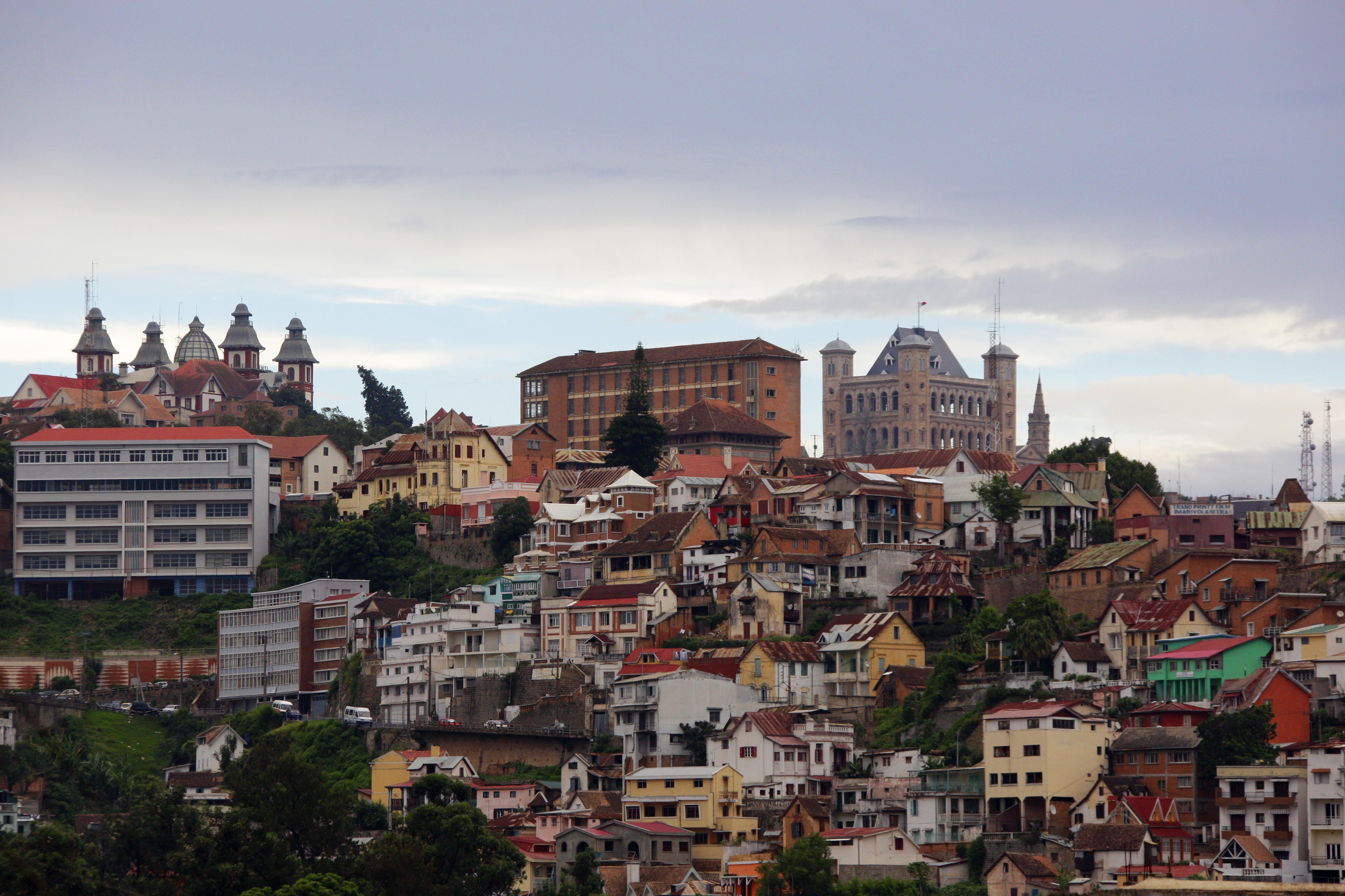 The capital of Madagascar, Antananarivo