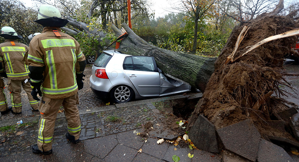 """Strong storms kill five in Germany, Poland and Czech Republic"""""""