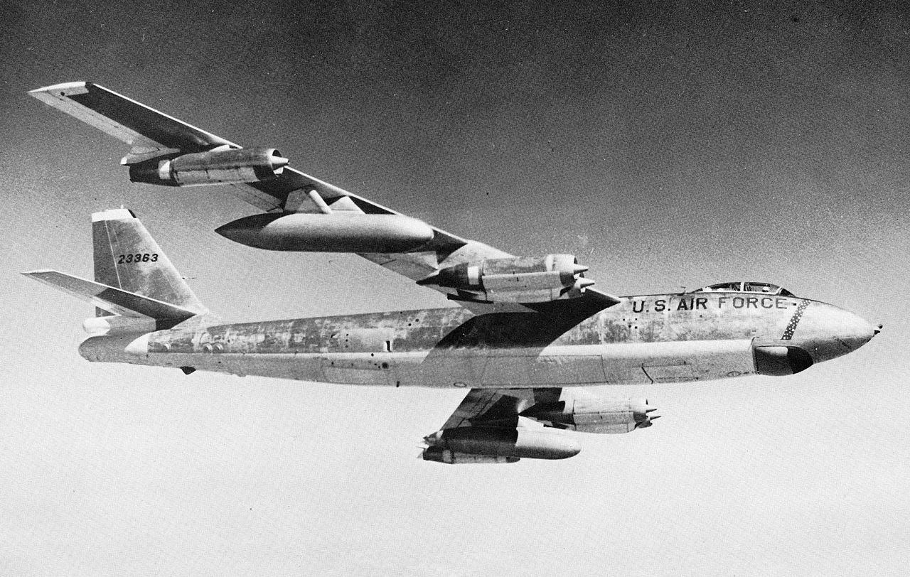 A Boeing B-47E-50-LM Stratojet