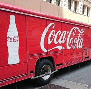 A Coca-Cola truck