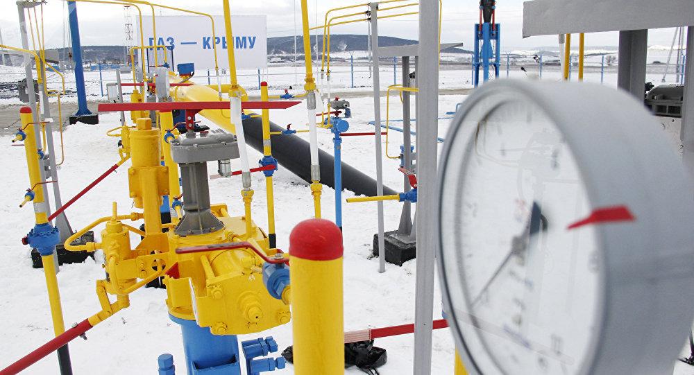 A gas pipeline in Crimea. File photo