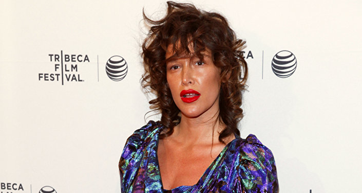 Paz de la Huerta attends the Tribeca Film Festival world premiere of Bare at the SVA Theatre in New York