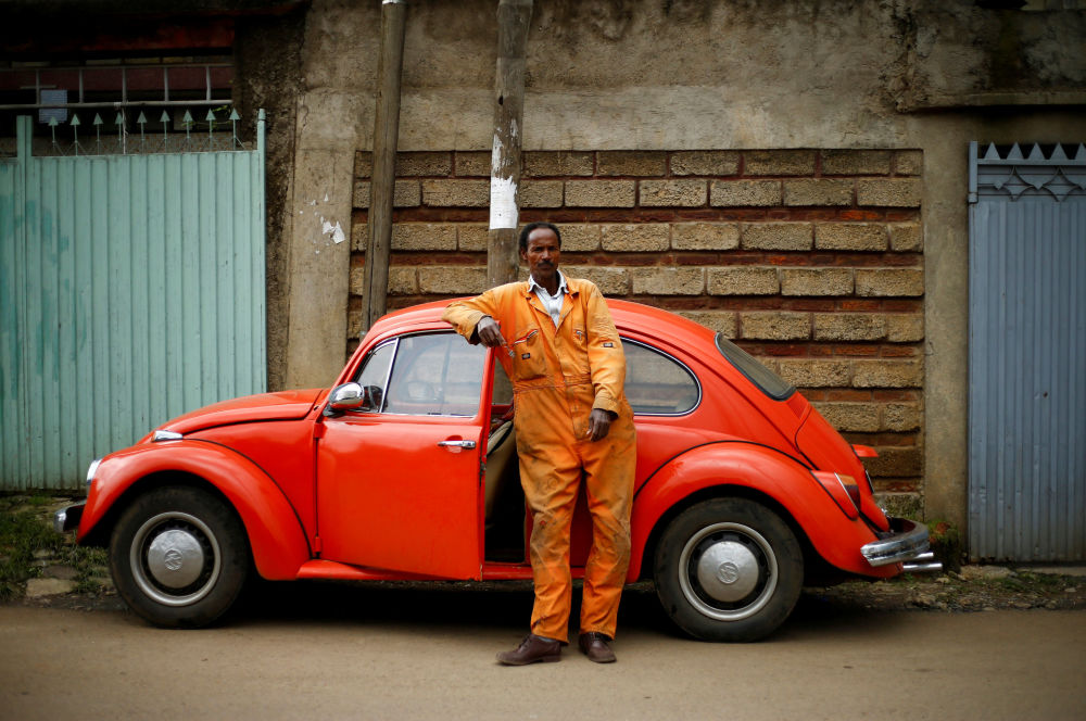 Legendary VW Beetle Gets Unexpected Second Wind in Ethiopia