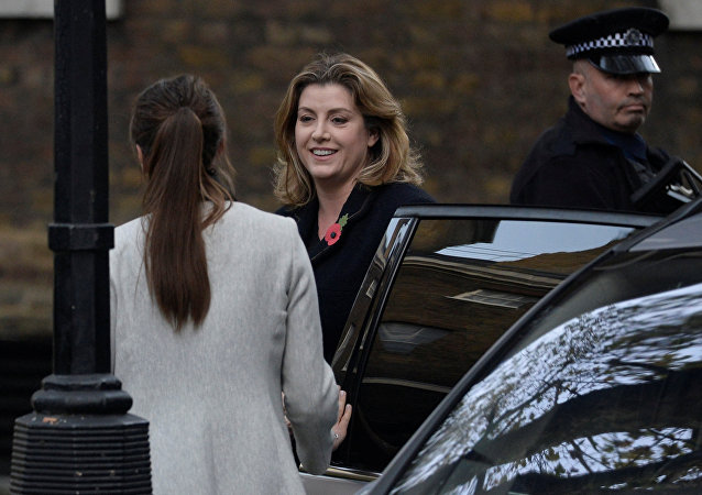 Britain's Conservative MP Penny Mordaunt arrives in Downing Street, London, Britain, November 9, 2017