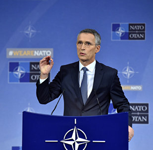 NATO Secretary General Jens Stoltenberg holds a news conference during a North Atlantic Council (NAC) defence ministers meeting in Brussels, Belgium November 9, 2017