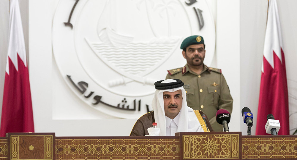 Boycotting Arab states not interested in negotiation: Qatari emir